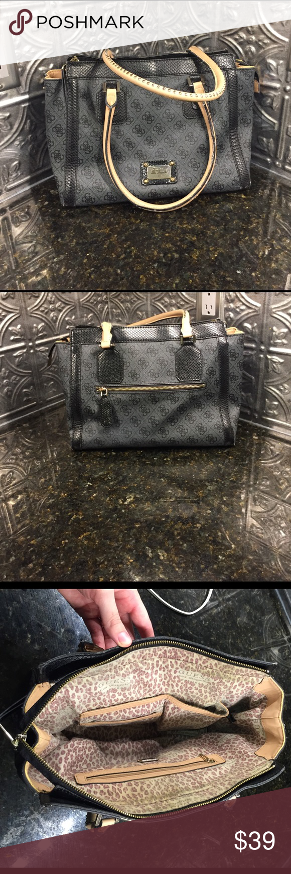 Purse GUESS Los Angeles 1981 Brand New