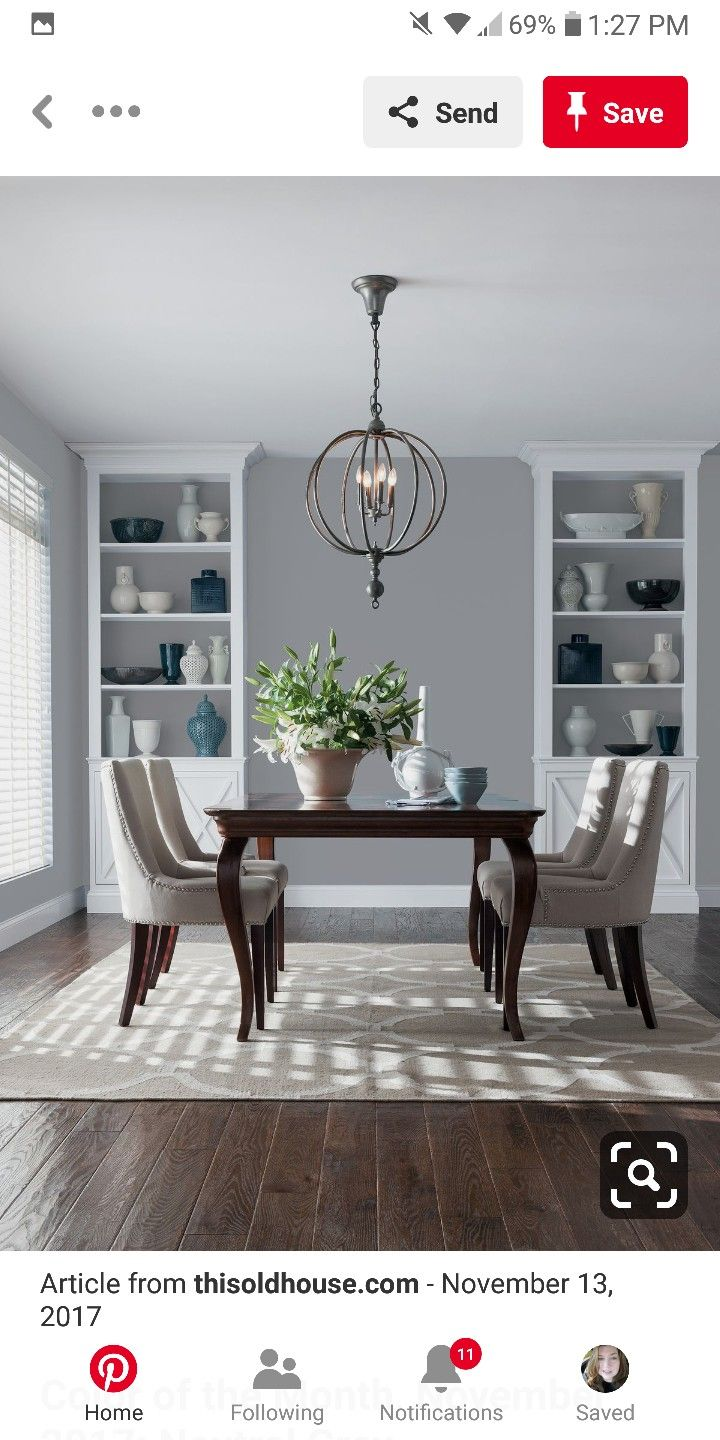 Pin by Kara Wilson on home redux | Dining room paint ...