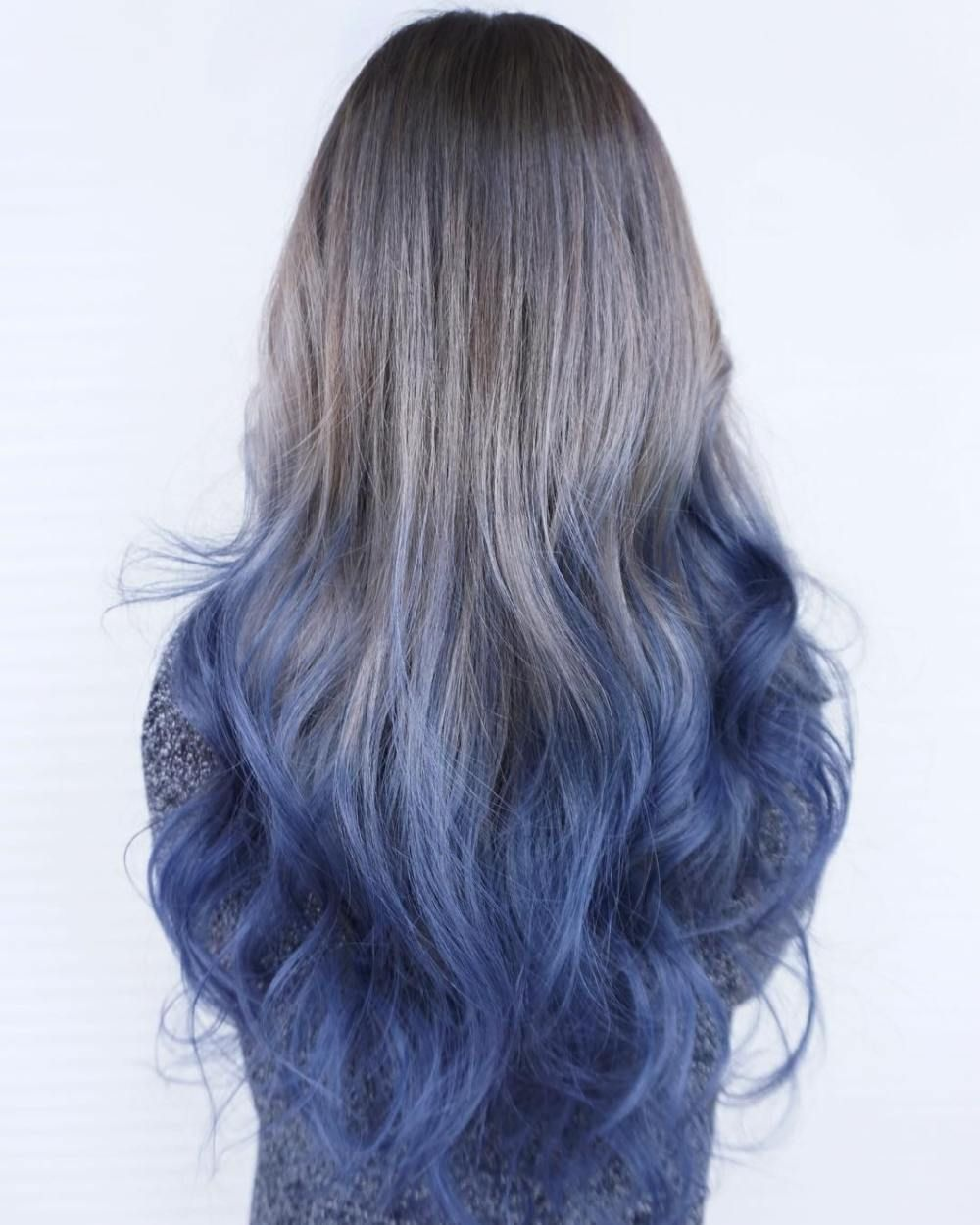 40 Fairy Like Blue Ombre Hairstyles Blue Ombre Hair Best Ombre