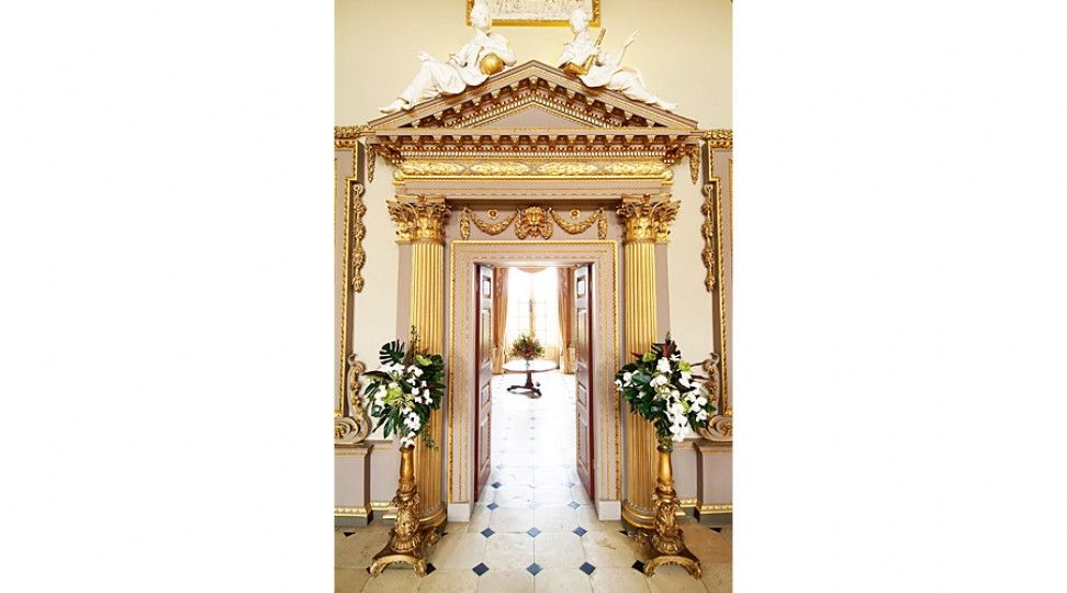 View From the Great Hall through to Saloon - The Ditchley Foundation