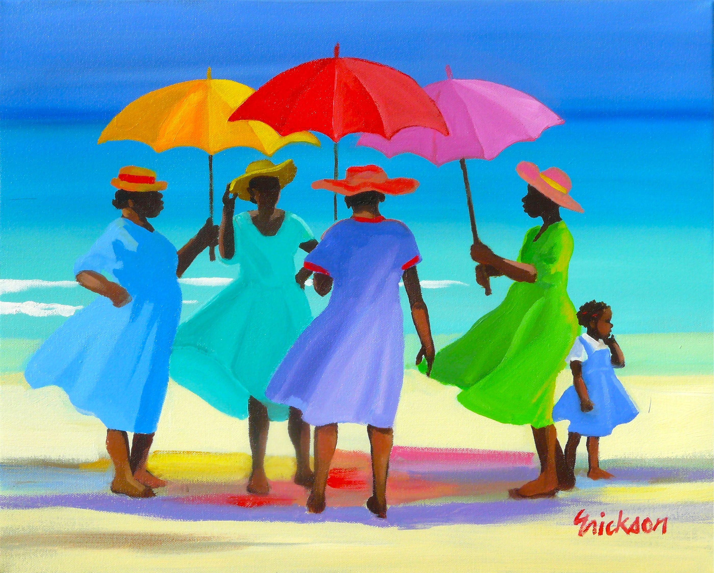 Shari Erickson - Salty sisters - Camaieu - Art Gallery ...