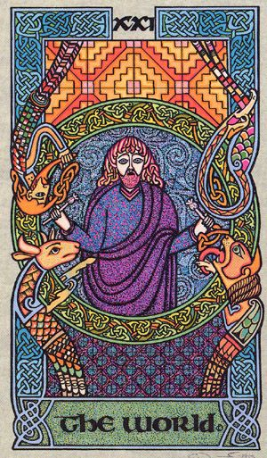Celtic Tarot By Courtney Davis & Helena