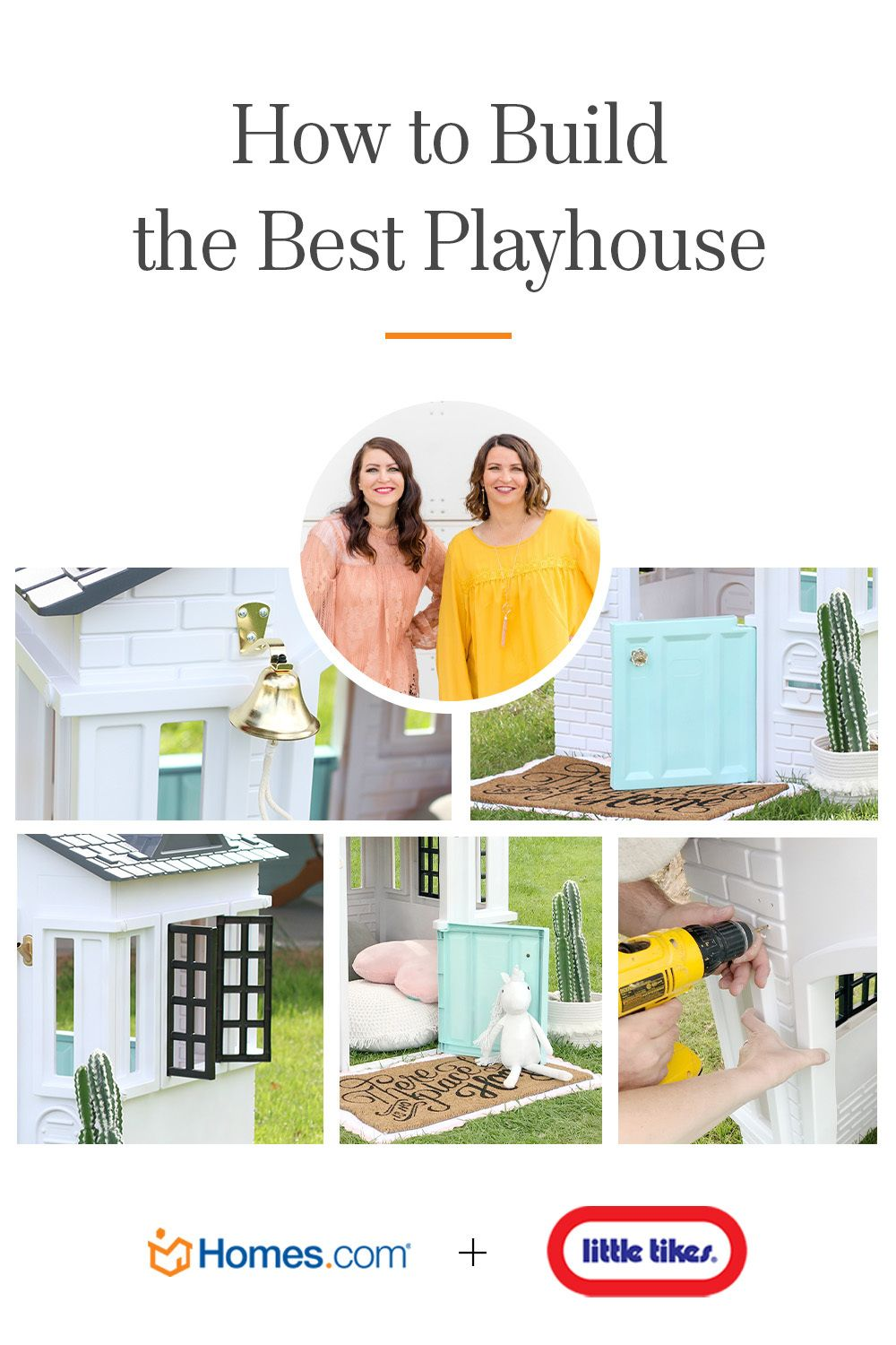 Little Tikes Cape Cottage Playhouse™ Makeover Lolly Jane