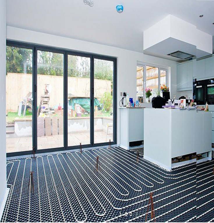 Luxury And Affordable Underfloor Heating System Design And
