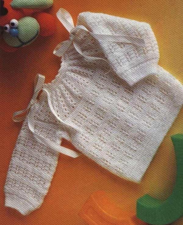 Patrones ganchillo ropa bebé (Foto 8/10) - Ella Hoy   Vestidos nenas ...