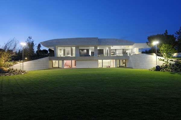 Futuristic Beach Houses Architect Castles Mansions Pinterest