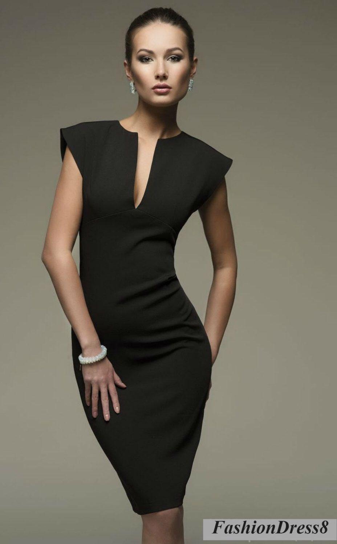 Black dress woman - Little Black Dress Pencil Dress By Fashiondress8 On Etsy Https Www