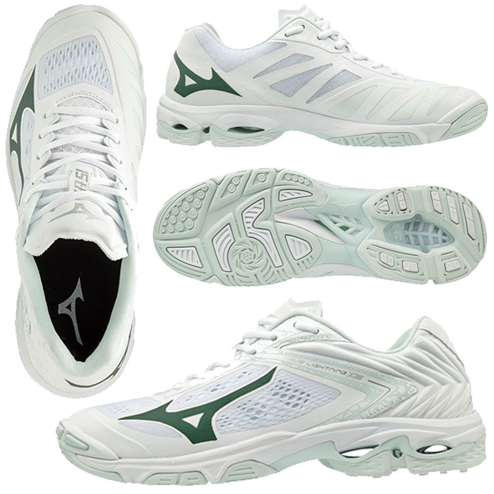 Mizuno Women S Wave Lightning Z5 White Mizuno Volleyball Shoes Women