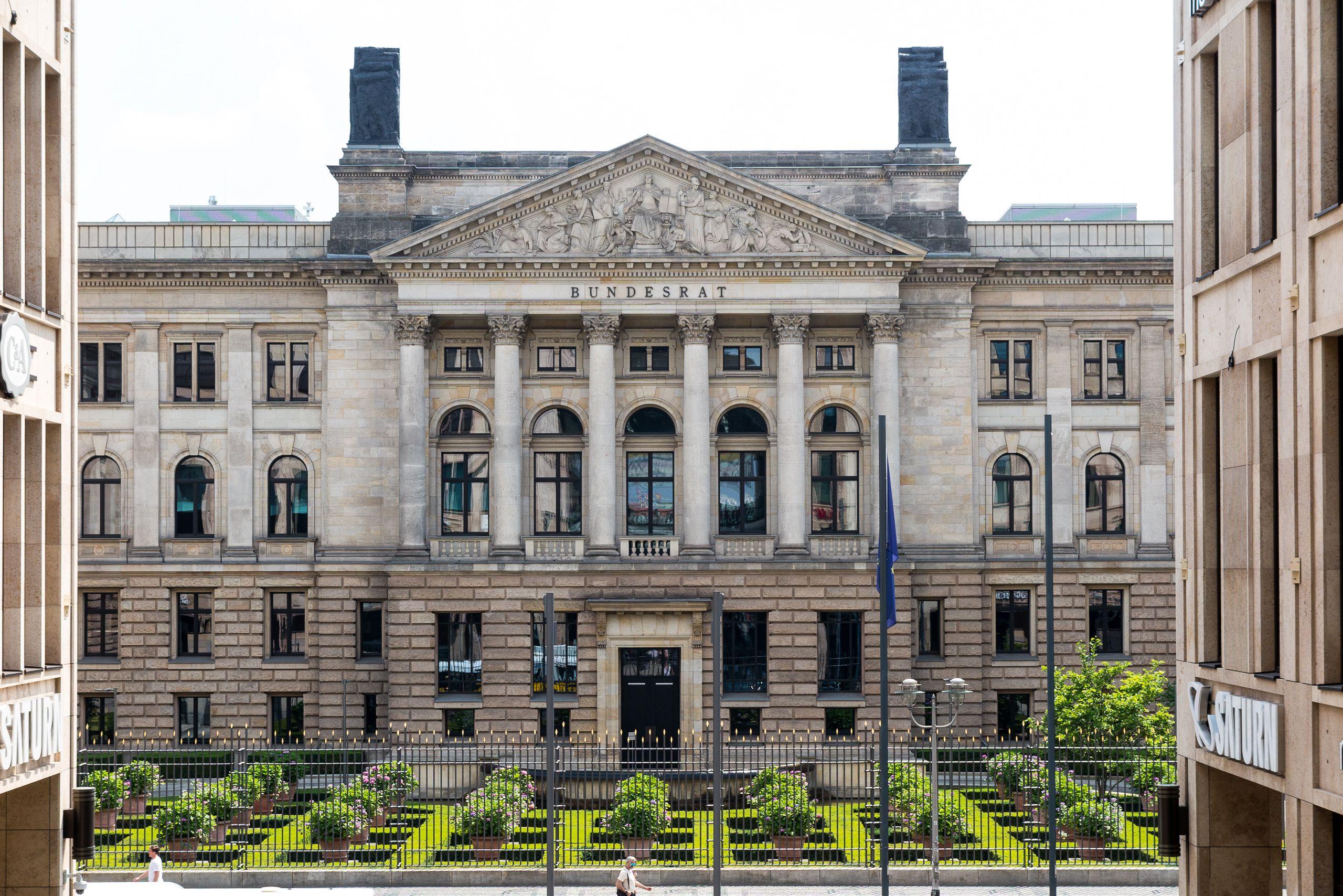 2016 Berlin   Mitte, Preußisches Herrenhaus An Der Leipziger Straße, Sitz  Des Bundesrats In