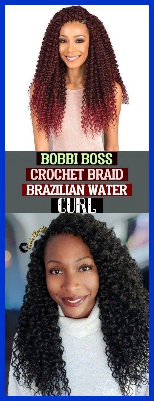Bobbi Boss Crochet Braid Brazilian Water Curl Boxbraids