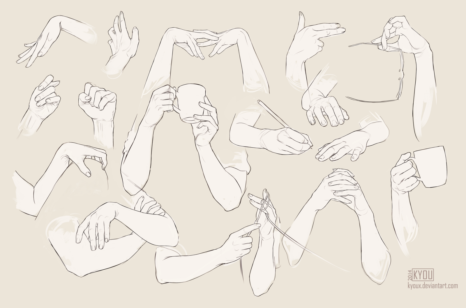 Hands Reference Girl By Kyoux On Deviantart Hand Drawing Reference Hand Reference Drawing Reference Poses