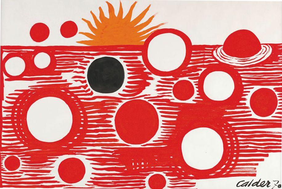 Alexander Calder Red Sea 1970 Alexander Calder Art Spirit