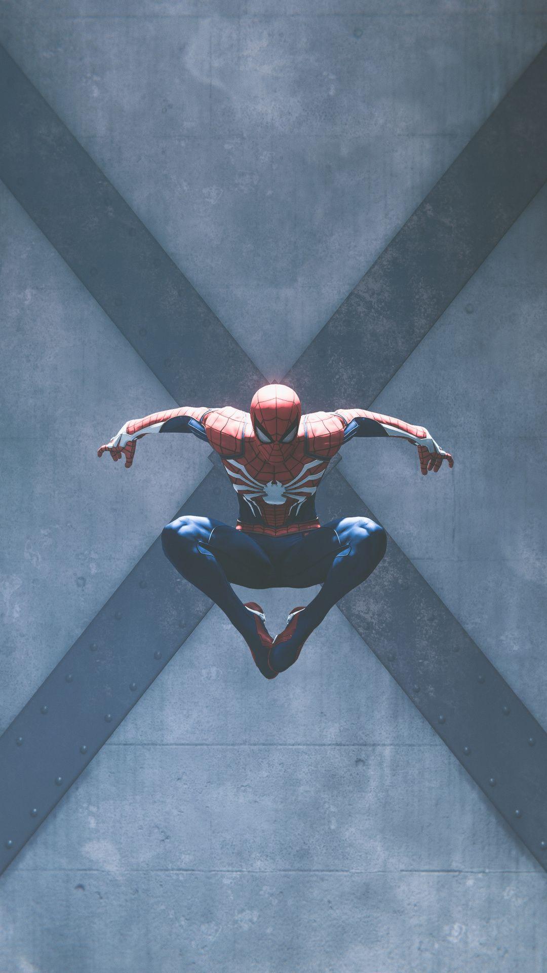 Video game, superhero, PS4, Spiderman, 1080x1920