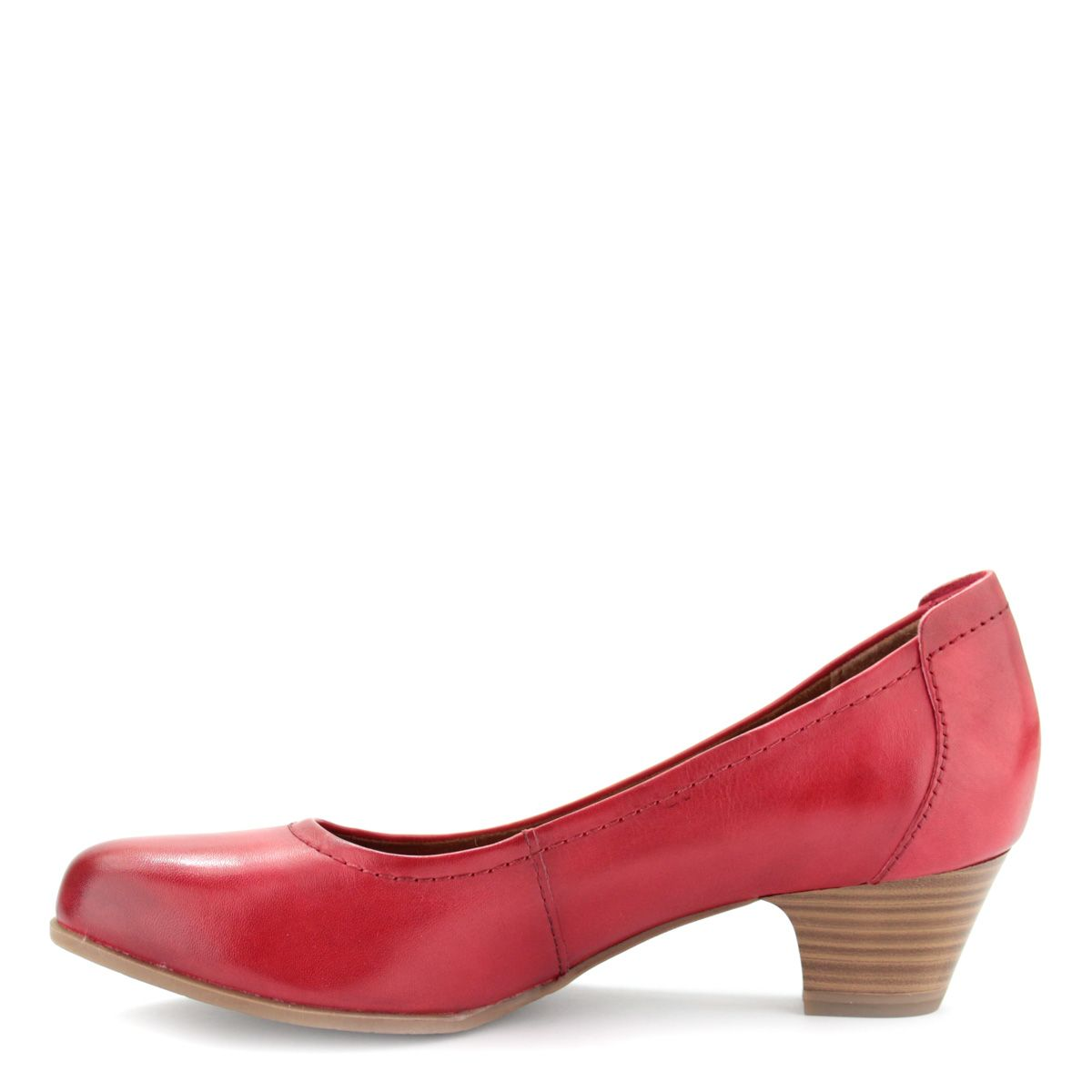Piros Tamaris cipő ANTiShokk sarokkal  ae4c9cbfff