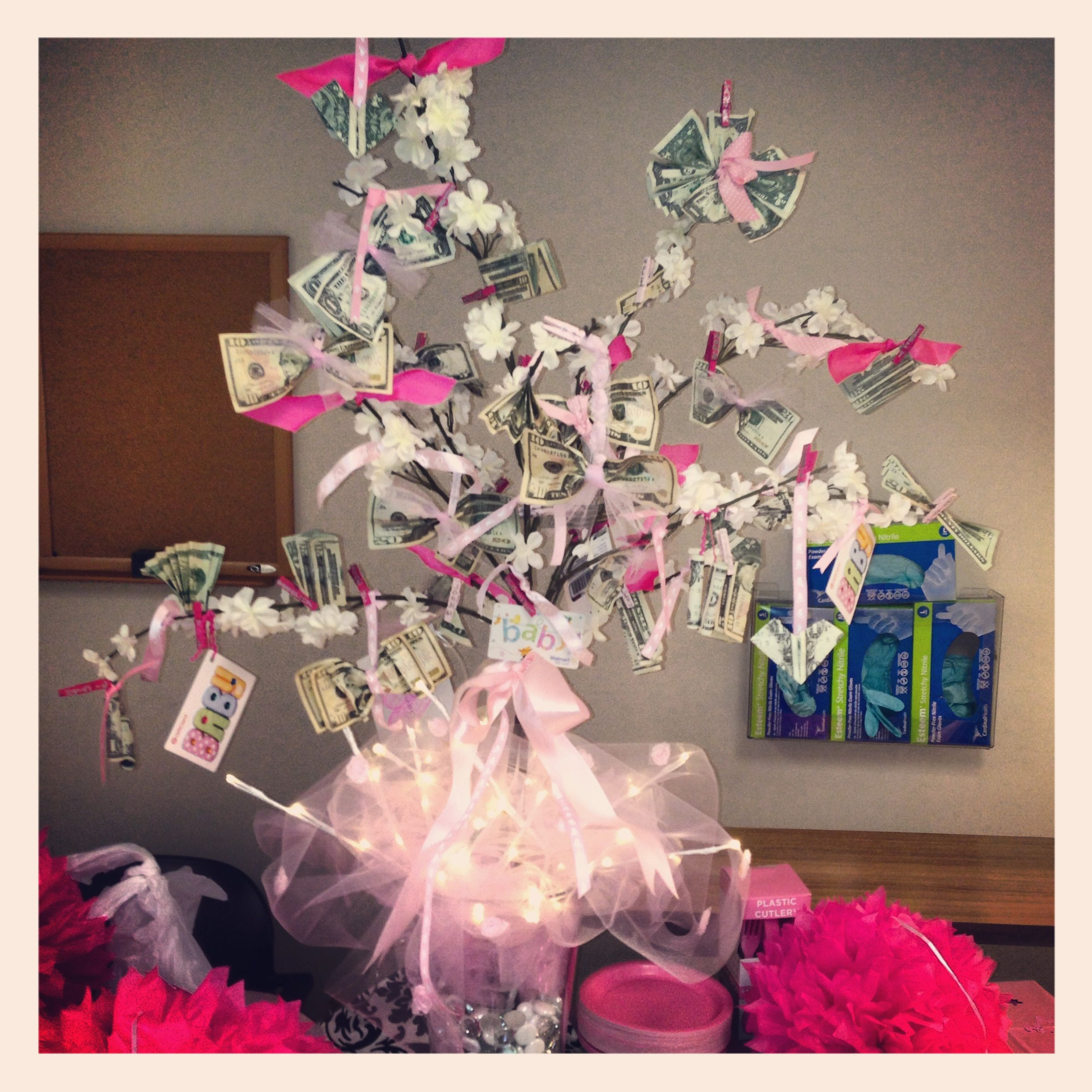 Baby Shower Money Tree Money Tree Pinterest Money Trees