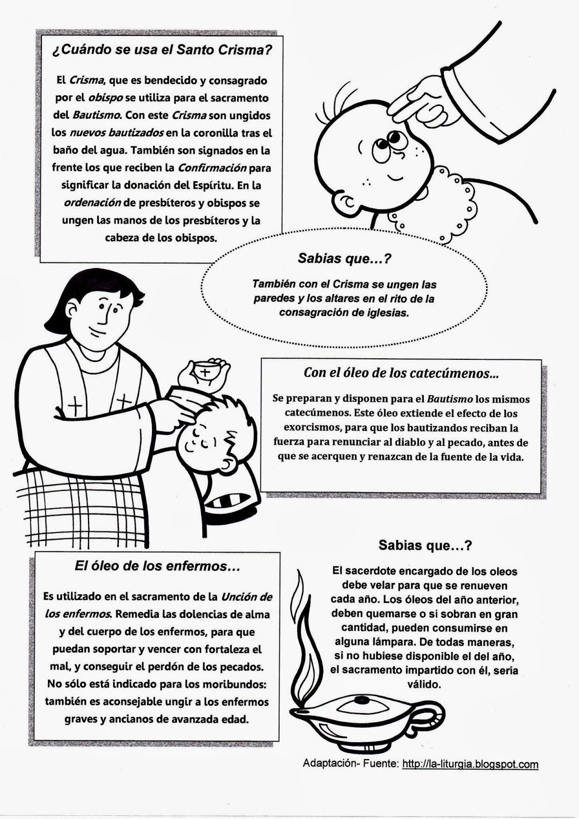 La Catequesis (El blog de Sandra): Bautismo | religion | Pinterest ...