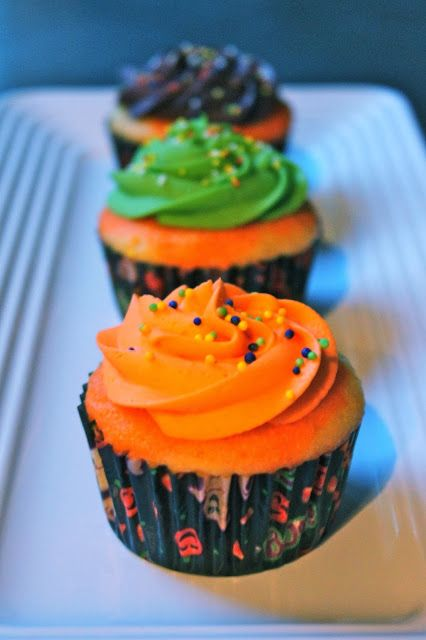 Baked Perfection: Halloween Cupcakes