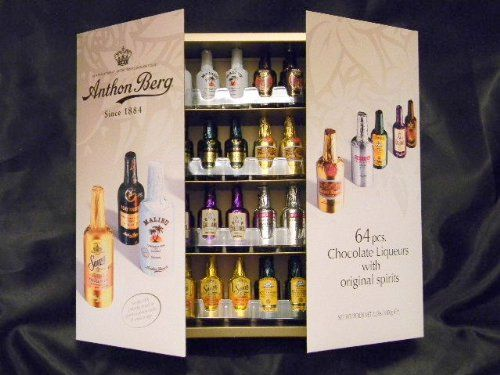 Anthon Berg Chocolate Liquor Bottles 64ct Box 4435
