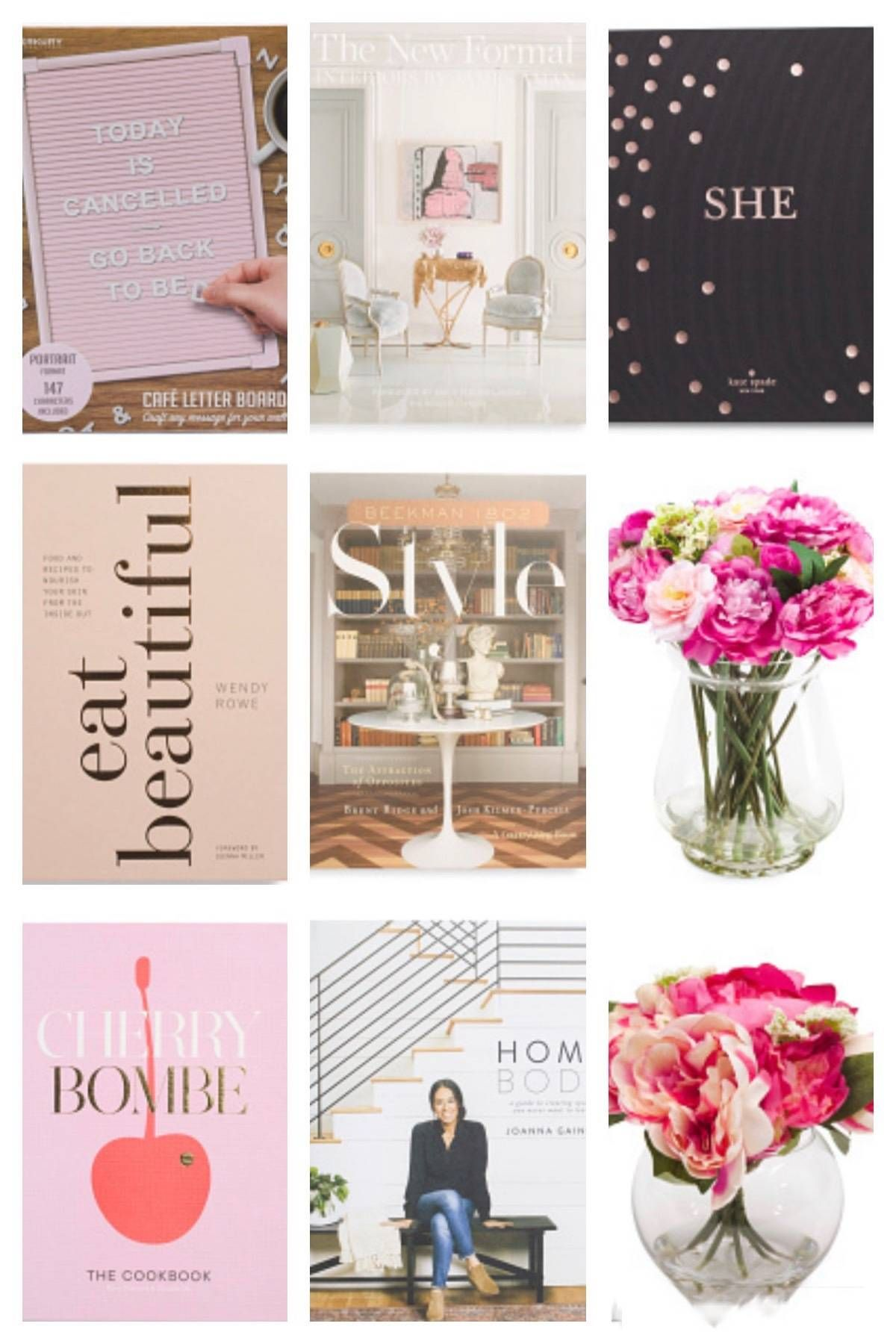 TJ Maxx Home Goods Favorites Best coffee table books