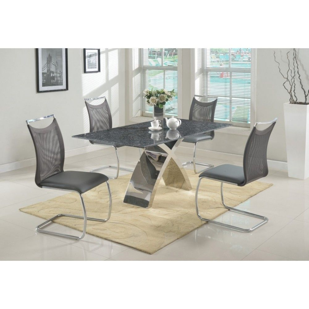 Superbe Ingrid Nadine Dining Set By Chintaly Imports