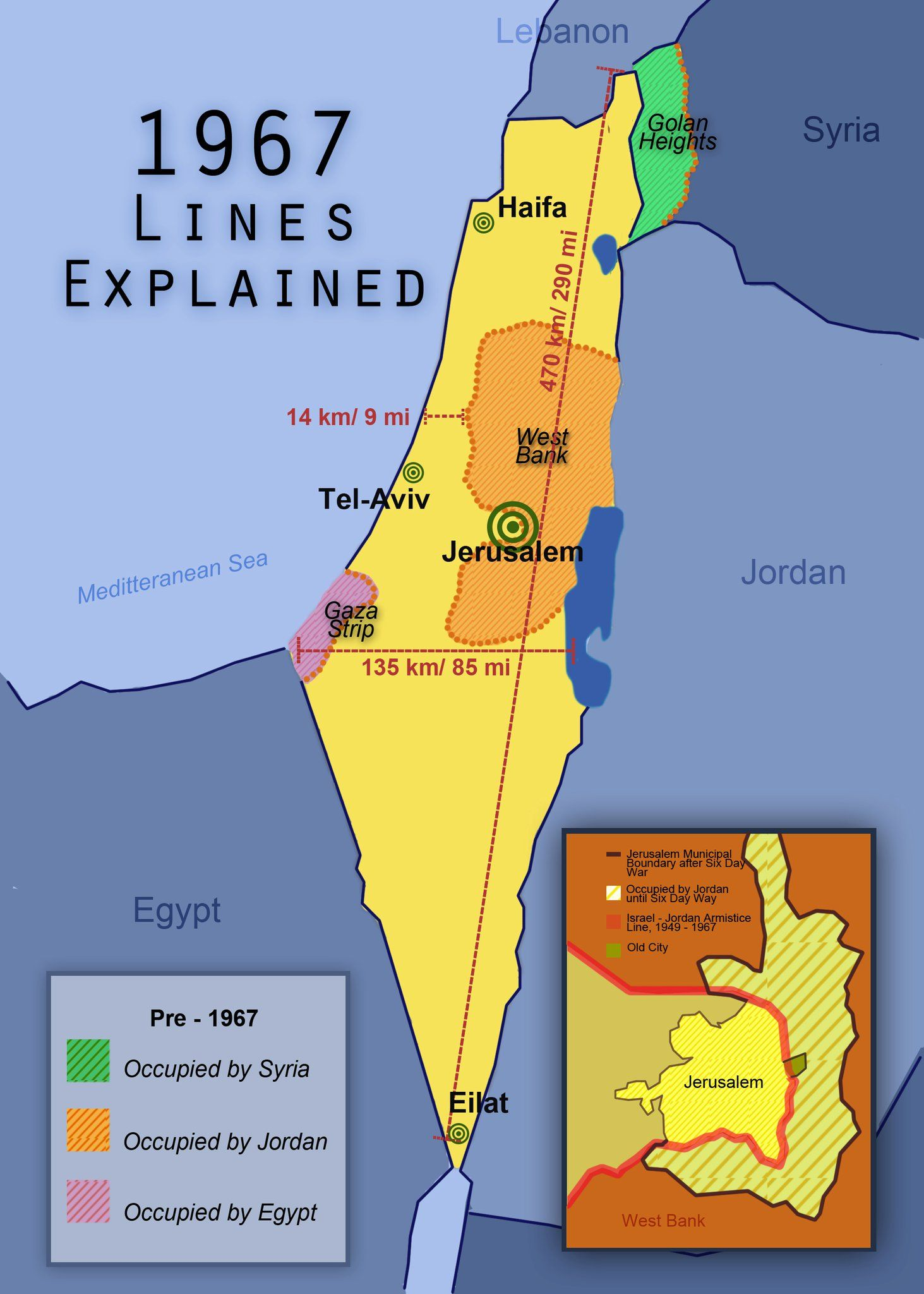 Israel Lines Map I Can Say That My Home Is Less Than