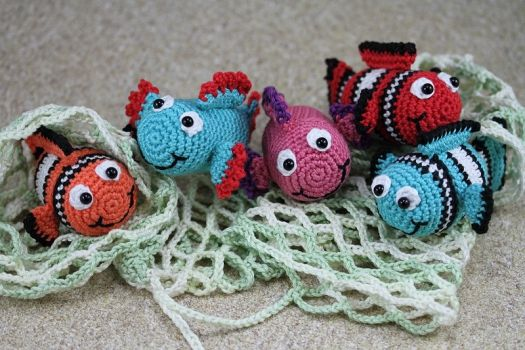 Häkelanleitung ü Pet Fisch Blubb Handarbeit Pinterest Crochet