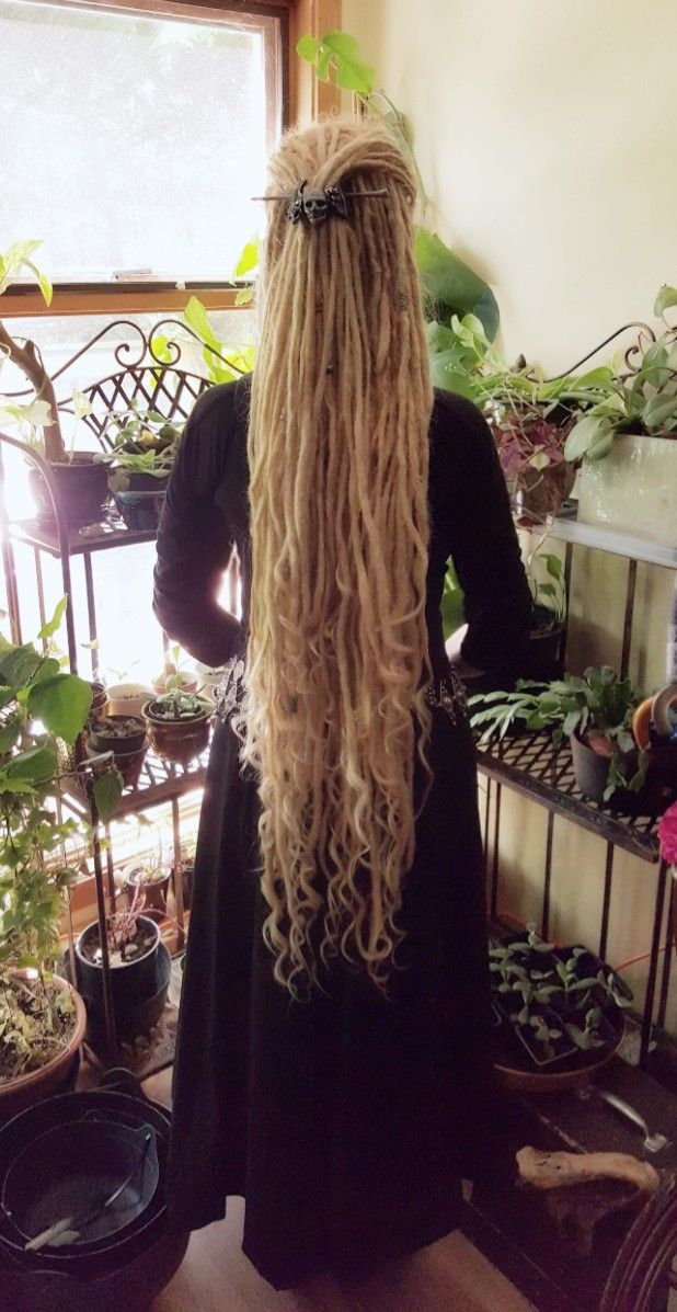 dreadlocks dreads blonde goddess