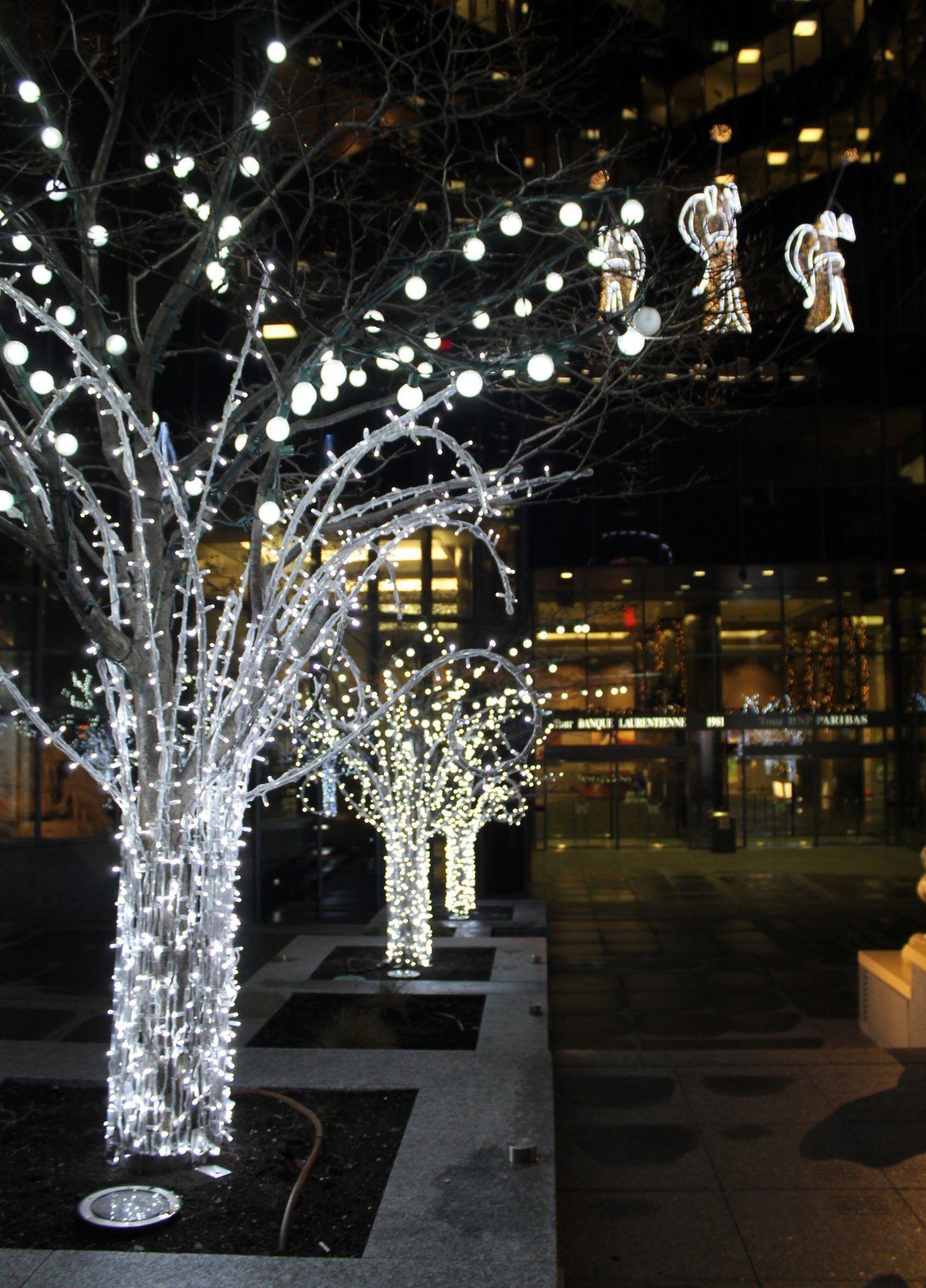 Service d'illumination et de décoration de Noël extérieur