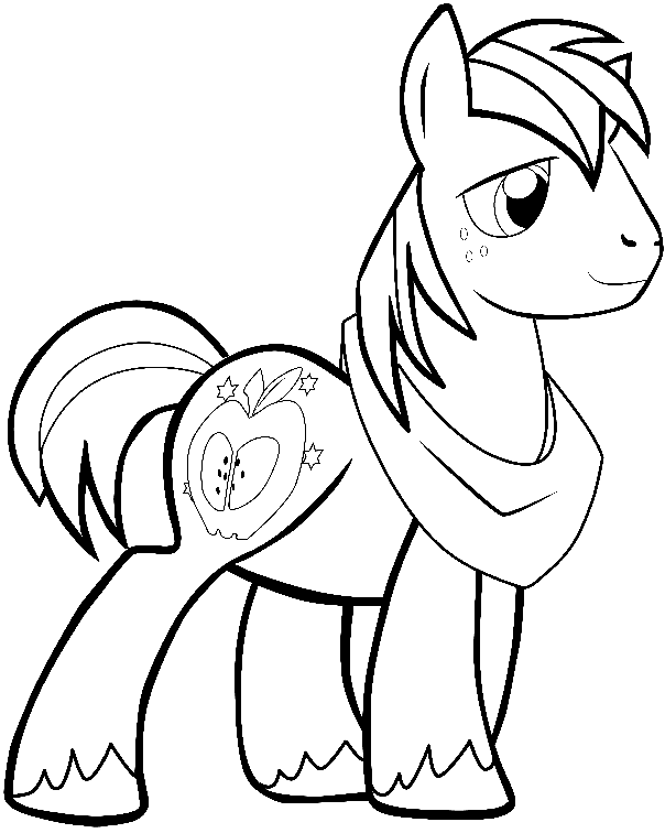 How to Draw Big Mac from My Little Pony: Friendship is