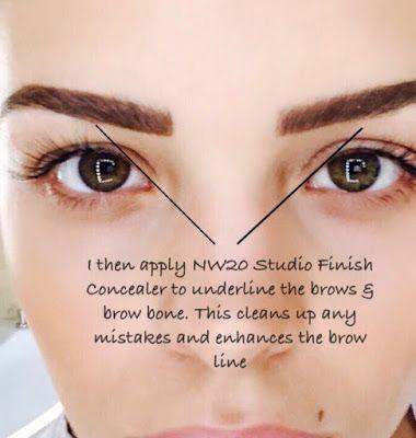 Chloe Lewis : My Eyebrow Tutorial