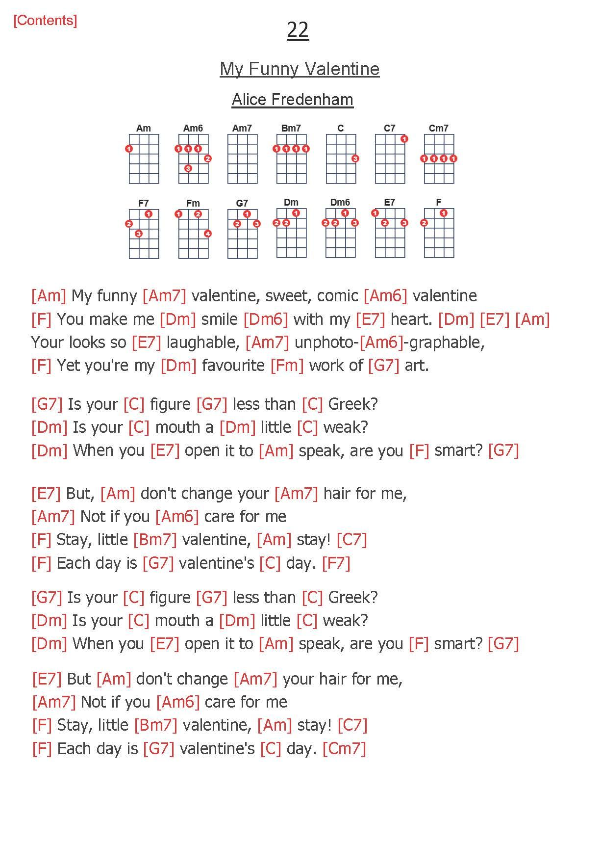 Pin On Ukelele Chords