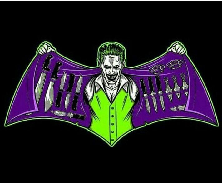 Playing On The Old Batman Symbol Joker Reference Art Pinterest