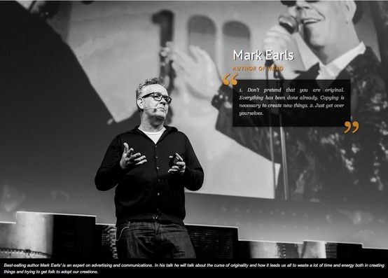 Marc Earls, The Next Web 2013 - Visual storyboard door Bibi Veth - visual storyboard