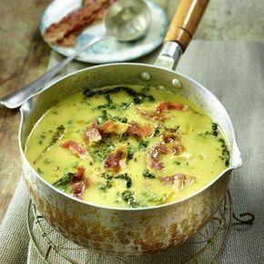 Photo of Zuppa di patate e verza con pancetta ricetta DELIZIOSA