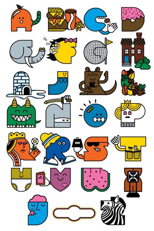 Alphabet by Mike Davis