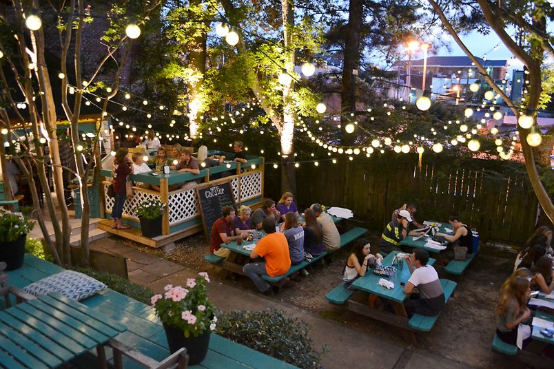 The Beer Garden Offers Some Of The Best Outdoor Dining In