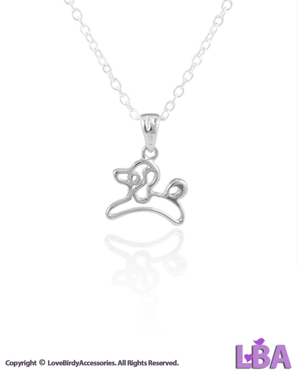 (100 Guaranteed 925 Sterling Silver) Dog Jewelry