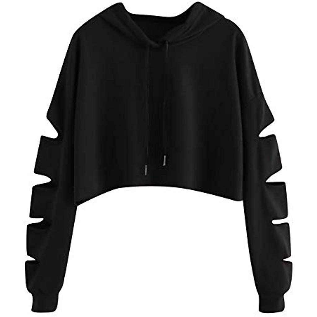 Crop Top Damen Pullover Ulanda Frauen Teenager Mdchen