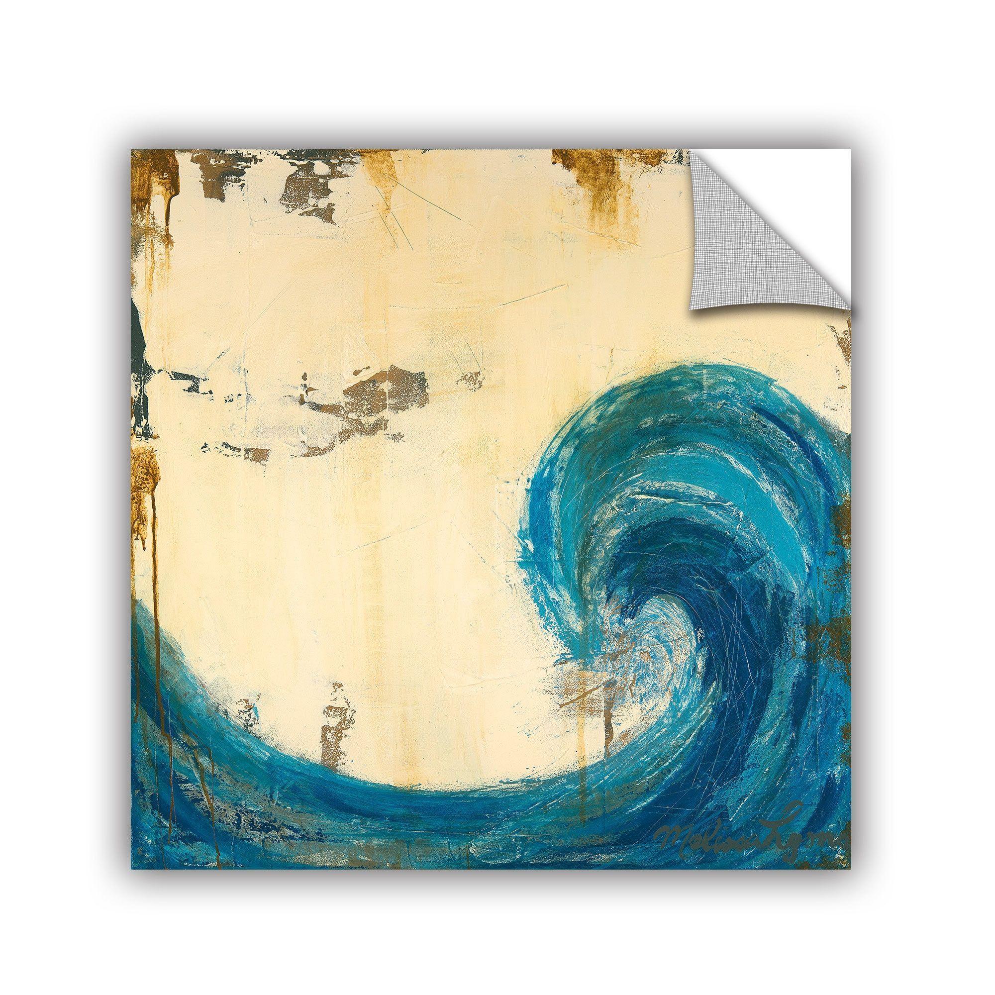 ArtWall ArtAppealz Melissa Lyons\'s \'Catch The Wave\' Removable Wall ...