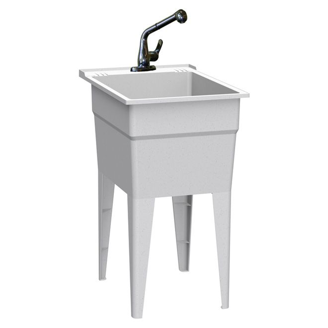 All In One Laundry Tub Kit Laundry Tubs Laundry Sink Utility Sink