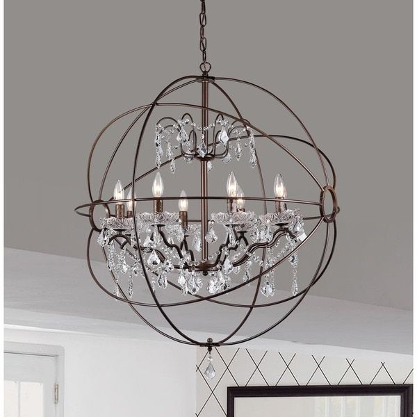 Edwards Antique Bronze 32-inch Chandelier | Overstock.com Shopping ...