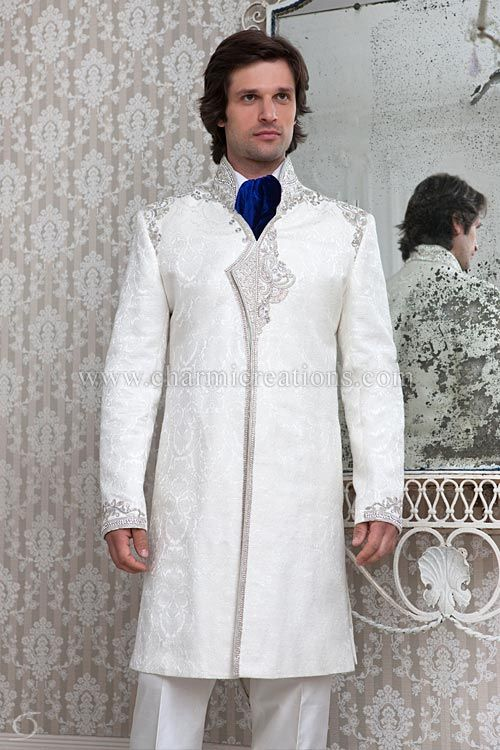 Indian Wedding Groom Suits & Sherwani Design for Mens | Men\'s ...