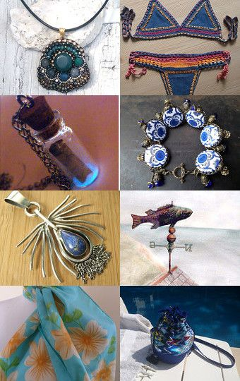 A Touch of Salty Air by Maria and  Mimi on Etsy
