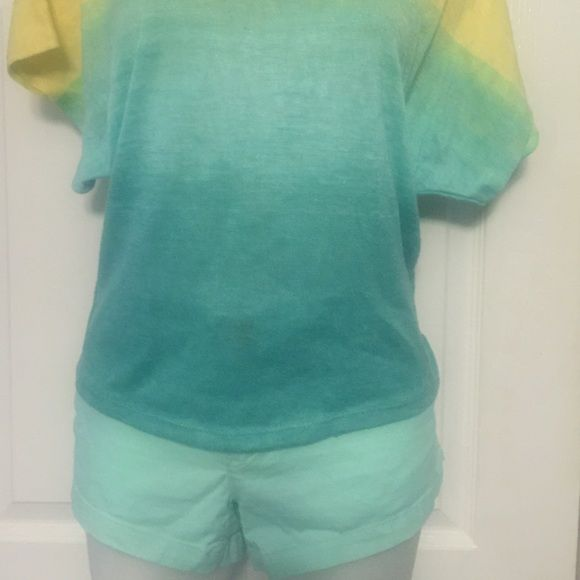 Super cute shorts Turquoise shorts worn only a few times American ...