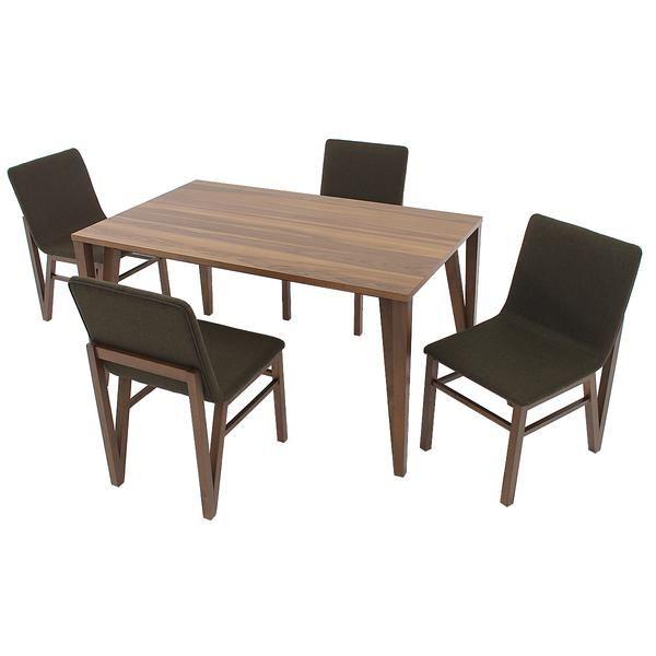 Eldorado Dining Room El Dorado Furniture  Terrano 5Piece Casual Dining Set  El