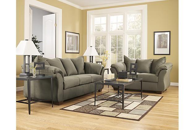 Superb Sage Darcy Loveseat View 2 · Sage Living RoomLiving ...