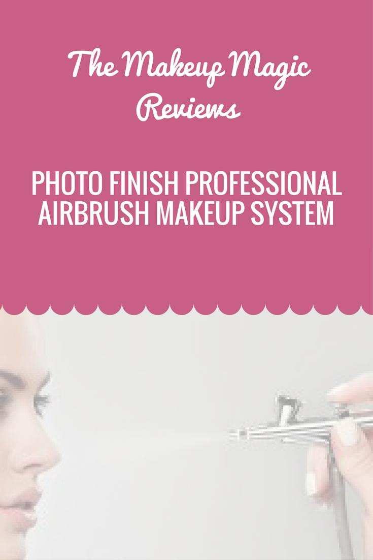 The Photo Finish Professional Airbrush Makeup System Kit