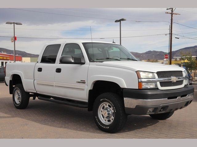 2004 Chevrolet Silverado 2500 Ls 4 Door Truck Exterior Color