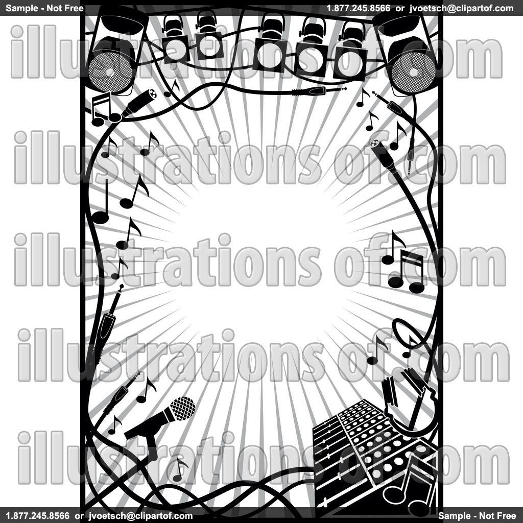 Royalty Free Rf Music Clipart Illustration By Frisko