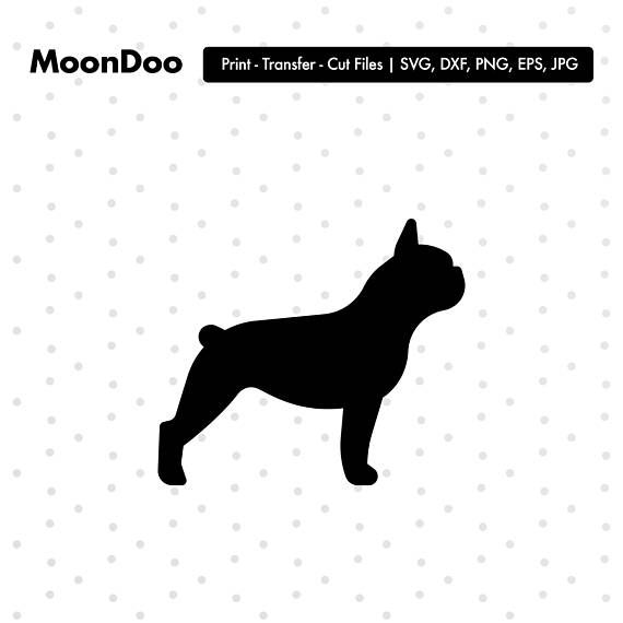 French Bulldog Clipart Frenchie Svg Files For Silhouette Bulldog Clipart Dog Art French Bulldog